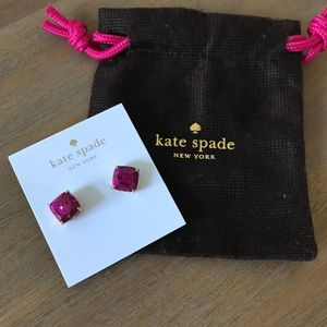 Kate Spade Glitter Studs